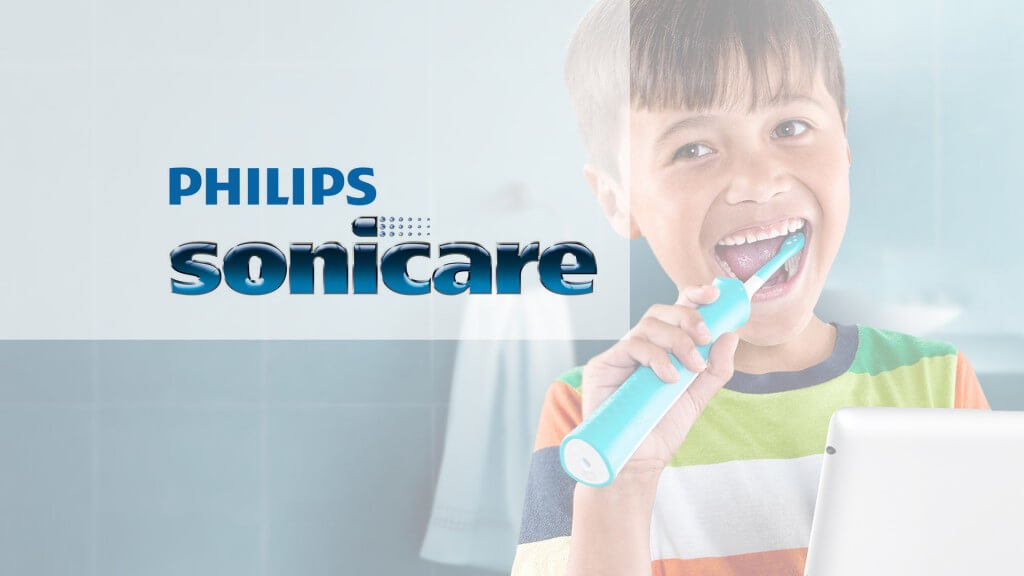 Electric toothbrush ad - Parkcrest Dental Group.