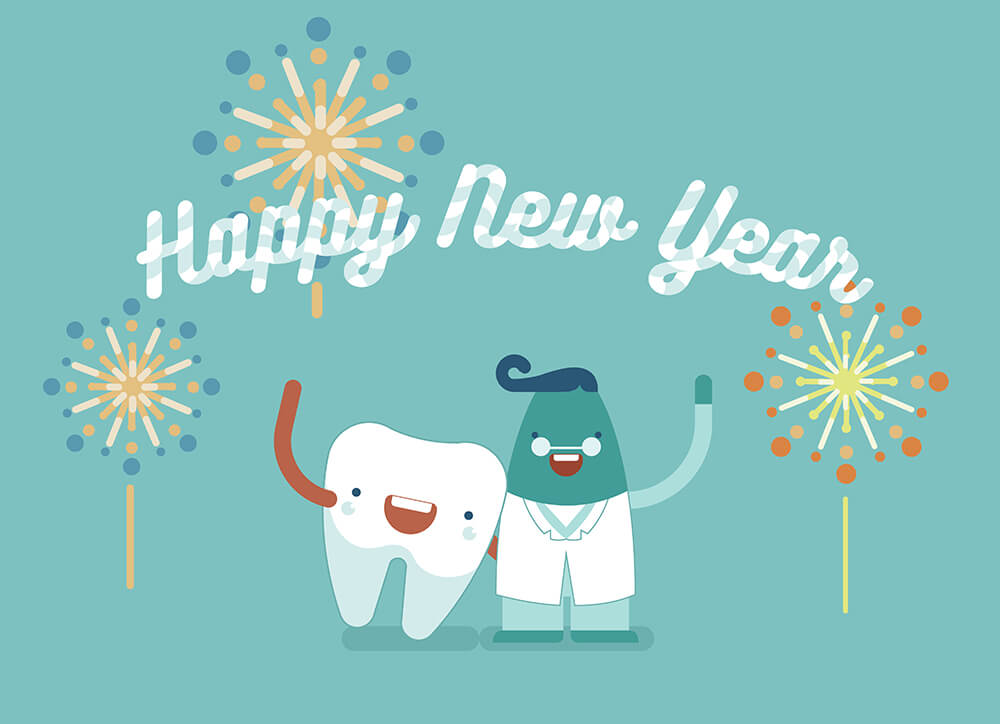 Parkcrest Dental Group - Happy New Year image.