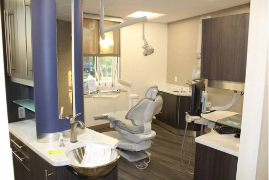 General dentistry exam room.