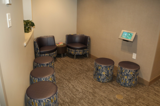 Parkcrest Dental Group office furniture.