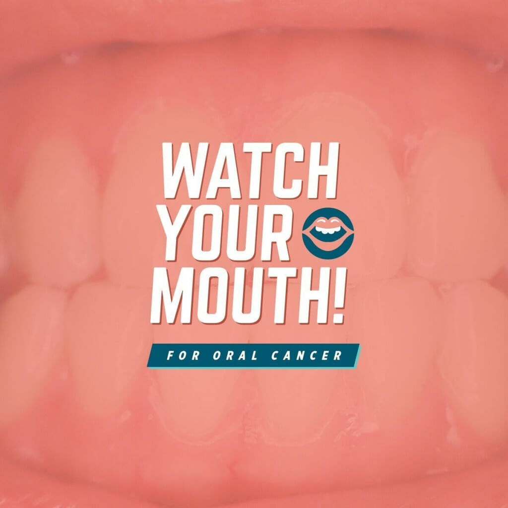 Watch Your Mouth - Parkcrest Dental Group banner.
