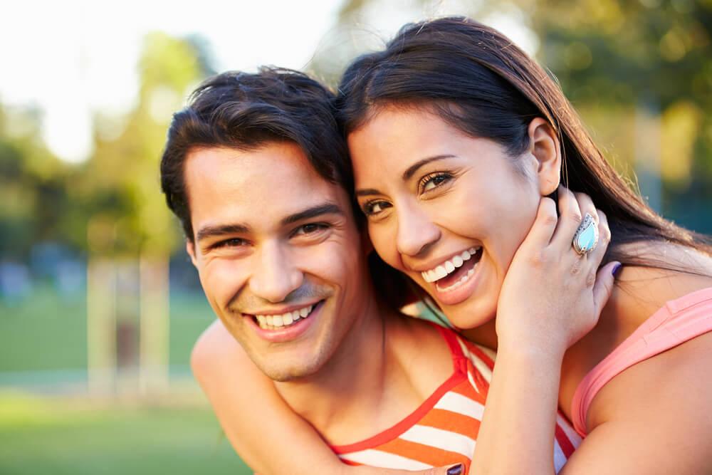 Happy smiling couple - Parkcrest Dental Group.