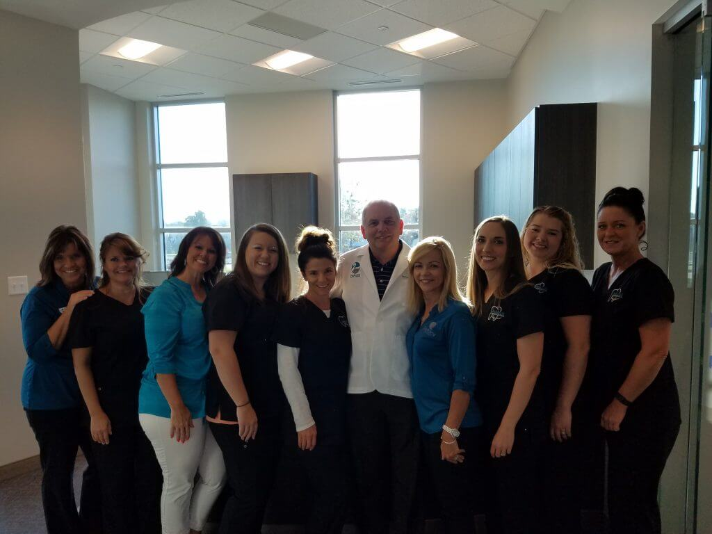 Orthodontics staff at Parkcrest Dental Group.