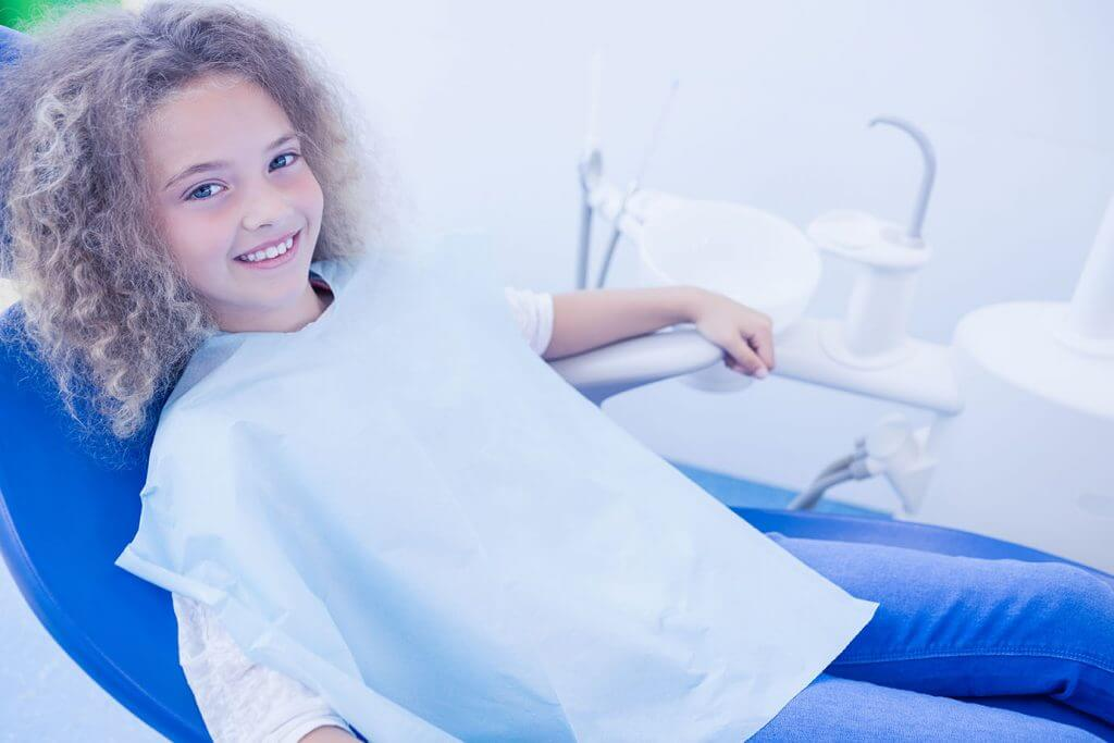 Young Child Ready for Pediatric Dentistry