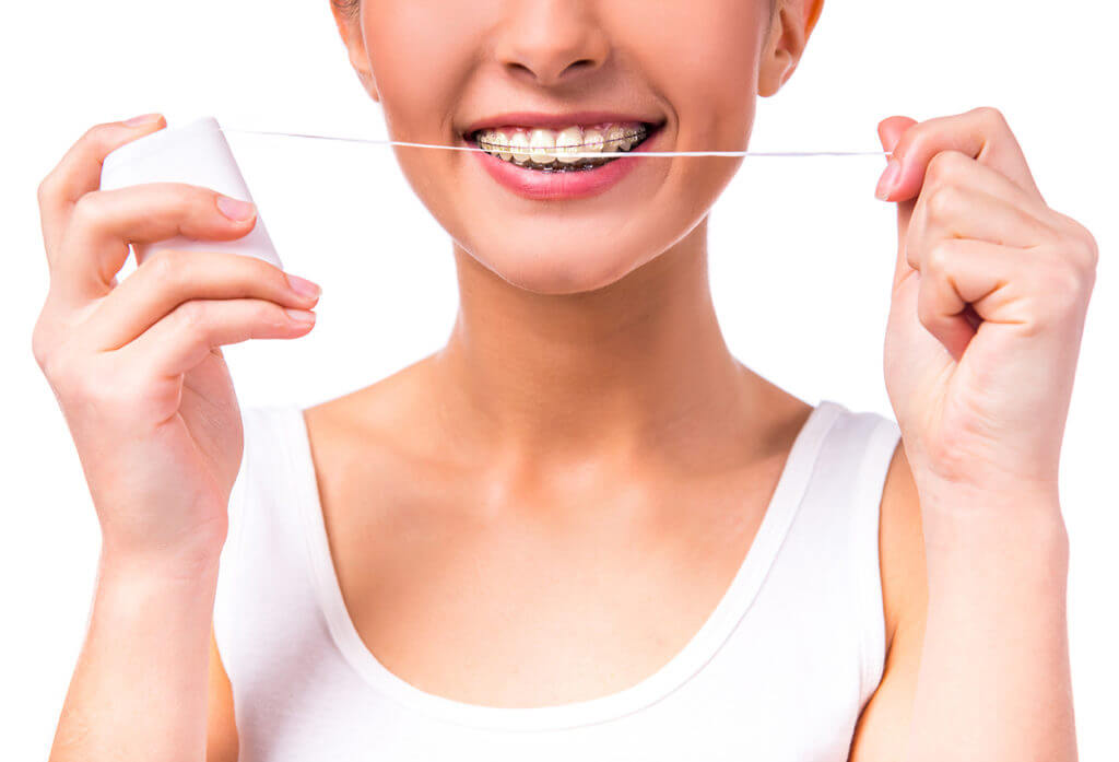 Parkcrest Dental Group Flossing with Braces