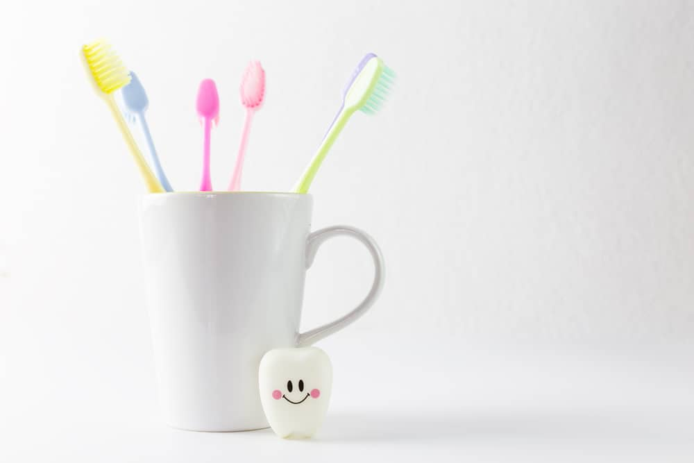 Toothbrush Cup Happy Tooth