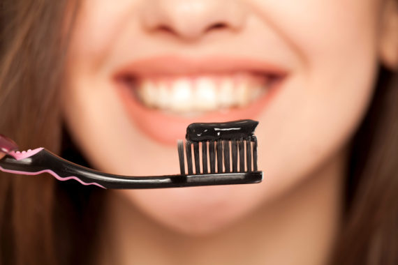 Teeth Whitening With Charcoal Toothpaste