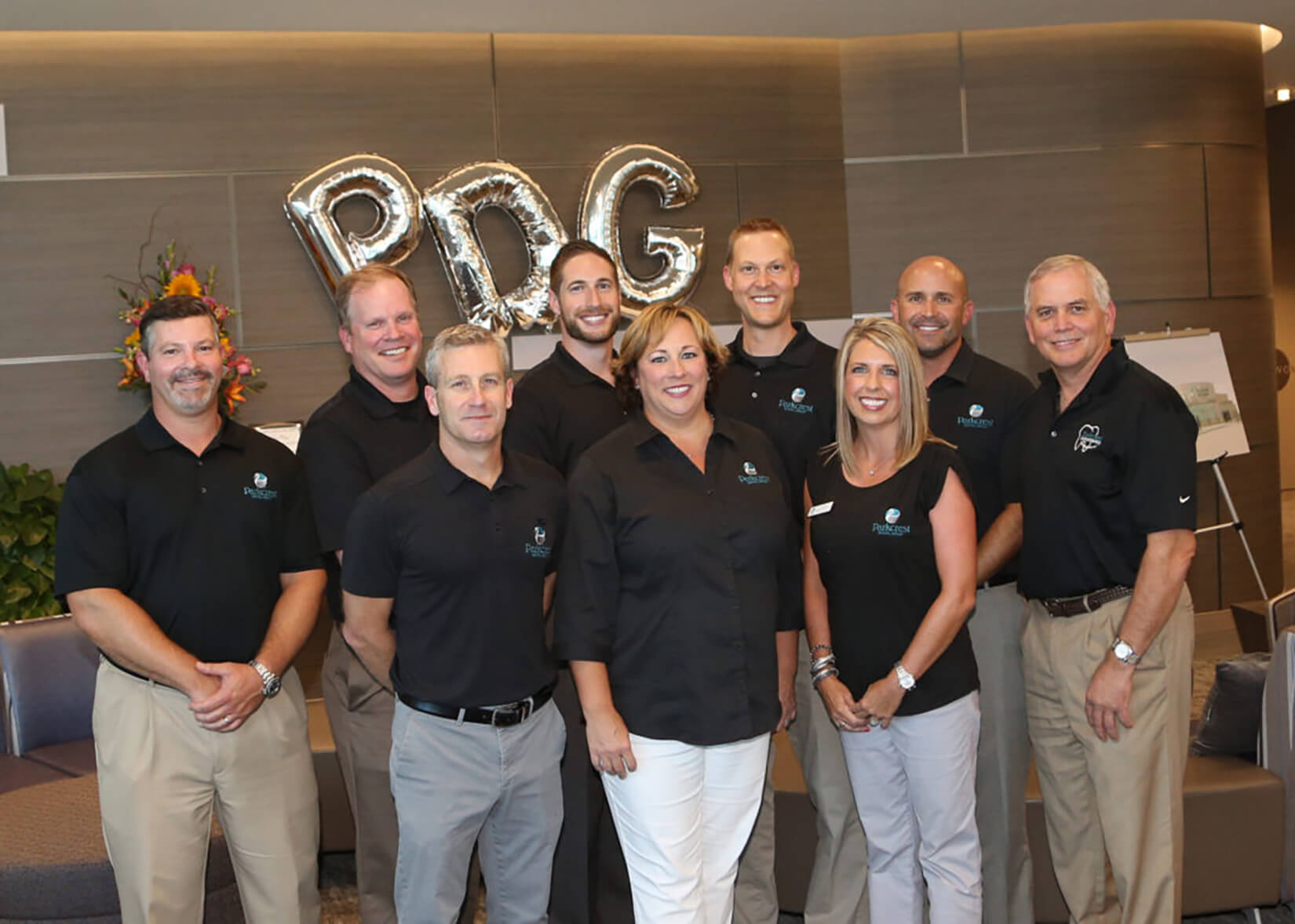 Parkcrest dentists in group photo